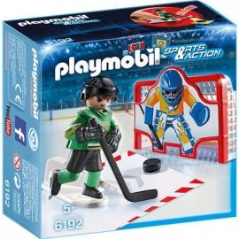 PLAYMOBIL® 6192 - Sports und Actions - Eishockey-Tortraining