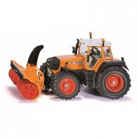 SIKU Farmer - Traktor mit Schneefräse