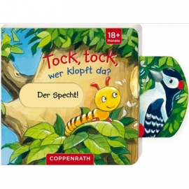 Coppenrath - Mini-Pappe mit Schiebern:Tock, tock, wer klopft da?