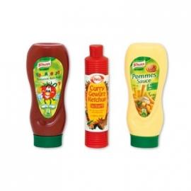 Tanner - Ketchup und Mayo Flaschen