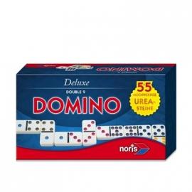 Noris Spiele - Deluxe Domino Double 9 in Magnetschachtel