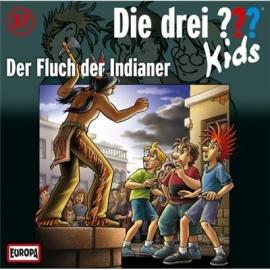 Europa - Die drei ??? Kids CD Der Fluch der Indianer, Folge 37