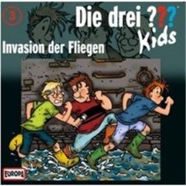 Europa - Die drei ??? Kids CD Invasion der Fliegen, Folge 3