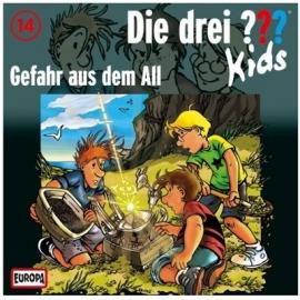 Europa - Die drei ??? Kids CD Gefahr aus dem All, Folge 14