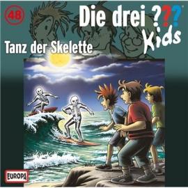 Europa - Die drei ??? Kids CD Tanz der Skelette, Folge 48