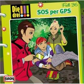 Europa - Die drei !!! CD SOS per GPS, Folge 36