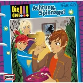Europa - Die drei !!! CD Achtung, Spionage! , Folge 40