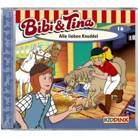 KIDDINX - CD Bibi und Tina … Alle lieben Knuddel (Folge 16)