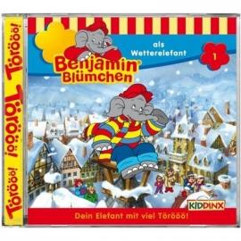 KIDDINX - CD Benjamin Blümchen … als Wetterelefant (Folge 1)