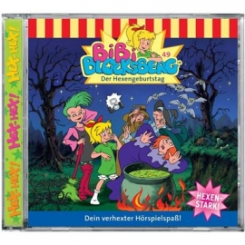 KIDDINX - CD Bibi Blocksberg … Der Hexengeburtstag (Folge 49)