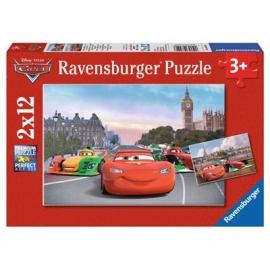 Ravensburger Puzzle - Lightning McQueen und Freunde, 2x12 Teile