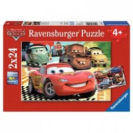 Ravensburger Puzzle - Cars Neue Abenteuer, 2x24 Teile