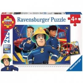 Ravensburger Puzzle - Sam hilft dir in der Not, 2x24 Teile