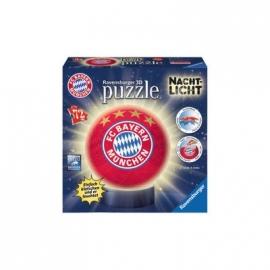 Ravensburger Puzzle - puzzleball - Nachtlicht FC Bayern München, 72 Teile