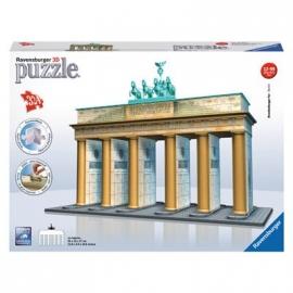 Ravensburger Puzzle - 3D Vision Puzzle - Bauwerke - Brandenburger Tor, 324 Teile