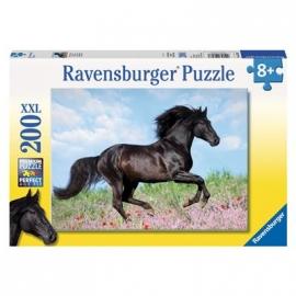 Ravensburger Puzzle - Schwarzer Hengst, 200 XXL-Teile