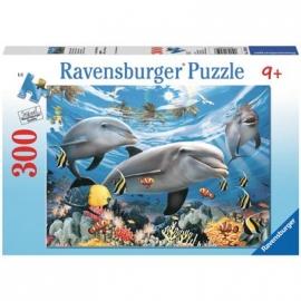 Ravensburger Puzzle - Karibisches Lächeln, 300 Teile
