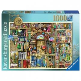 Ravensburger Puzzle - Magisches Bücherregal Nr.2, 1000 Teile