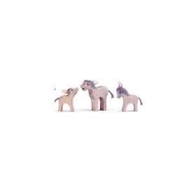 Esel, klein (Kopf hoch)