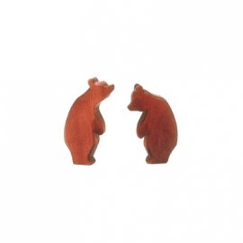 Bär, groß, stehend (Kopf hoch)