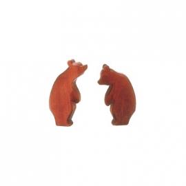 Bär, groß, stehend (Kopf tief)