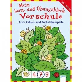 Arena Verlag - Mein Lern- und Übungsblock Vorschule - Erste Zahlen- und Buchstabenspiele