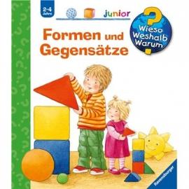 Ravensburger Buch - Wieso? Weshalb? Warum? - Junior - Formen und Gegensätze