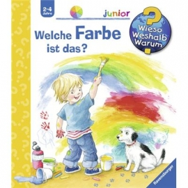Ravensburger Buch - Wieso? Weshalb? Warum? - Junior - Welche Farbe ist das?