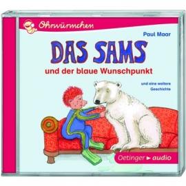 Oetinger - CD - Das Sams und der blaue Wunschpunkt und eine weitere Geschichte (CD)