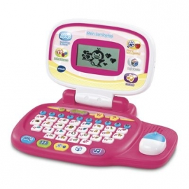 VTech - Ready, Set, School - Lerncomputer - Mein Lernlaptop pink