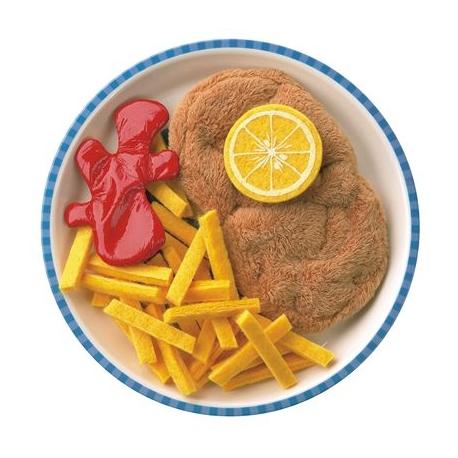 HABA - Biofino - Wiener Schnitzel mit Pommes frites