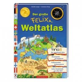 Coppenrath - Der große Felix Weltatlas (mit Ting-Stift nutzbar)