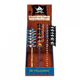 Die Spiegelburg - Bleistift mit Topper Captn Sharky