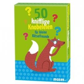moses. - 50 knifflige Knobeleien für kleine Rätselfreunde