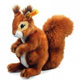 Steiff - Kuscheltiere - Kuscheltiere für Babys - Niki Eichhörnchen, 21 cm
