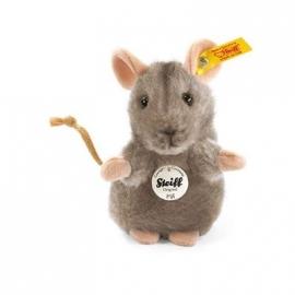 Steiff - Piff Maus, grau, 10 cm