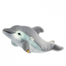 Steiff - Arktis- und Seetiere - Cappy Delphin, grau/weiß, 35 cm