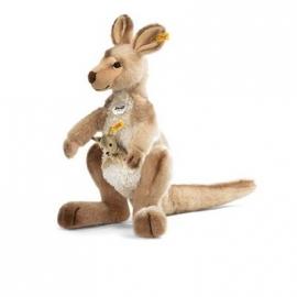 Steiff - Kuscheltiere - Dschungel - Kango Känguru mit Baby, 40 cm