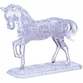 Jeruel Industrial - Crystal Puzzle, Pferd transparent, 100 Teile