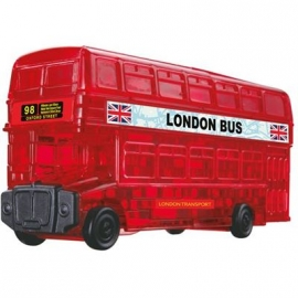 Jeruel Industrial - Crystal Puzzle - London Bus, 53 Teile