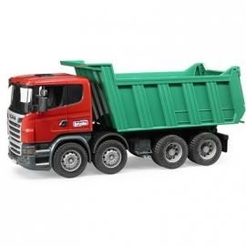 BRUDER - Scania R-Serie Kipp-LKW