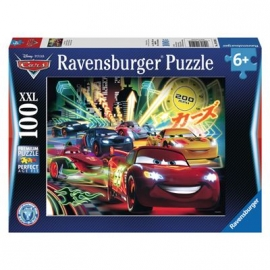 Ravensburger Puzzle - Cars Neon, 100 XXL-Teile