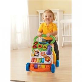 VTech - Baby - Spiel- und Laufwagen orange