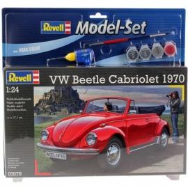 Revell - Model Set VW Beetle Cabriolet 1970