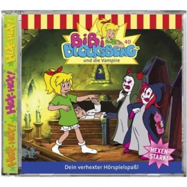 KIDDINX - CD Bibi Blocksberg … und die Vampire (Folge 40)