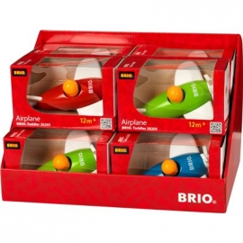 BRIO - Toddler - Push / Pull Alongs - Flugzeug (Sortiment)