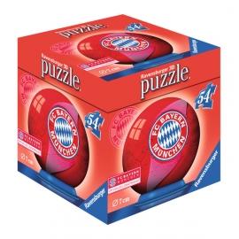 Ravensburger 118571  3D Puzzle-Ball FC Bayern München Logo 54 Teile