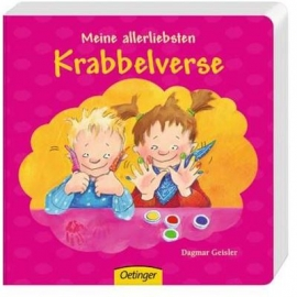 Oetinger - Meine allerliebsten Krabbelverse