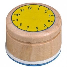 Die Spiegelburg - Stempel Lern die Uhr Bunte Geschenke