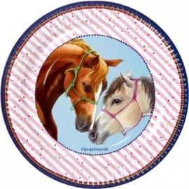 Partyteller Pferdefreunde (8 Stück)